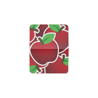 ファンキーで赤いりんご 名刺入れ
