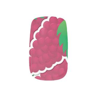 ファンキーで赤いブドウ ネイルアート