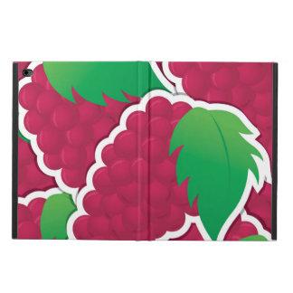 ファンキーで赤いブドウ POWIS iPad AIR 2 ケース