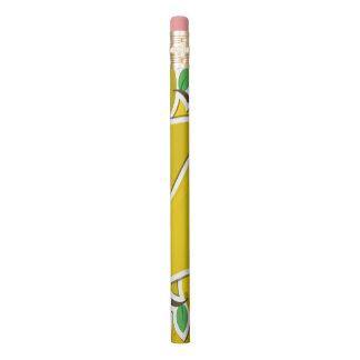 ファンキーで黄色いナシ 鉛筆