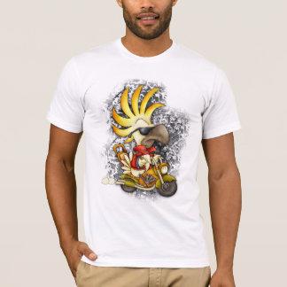 ファンキーなオウムのTシャツ-オウムT Tシャツ