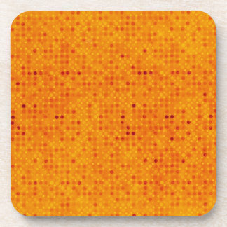 ファンキーなオレンジ コースター