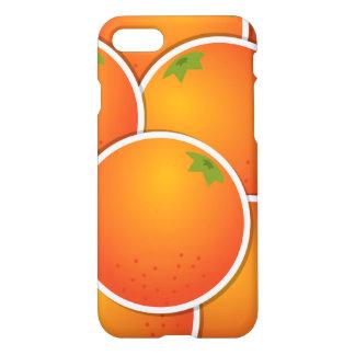 ファンキーなオレンジ iPhone 8/7 ケース