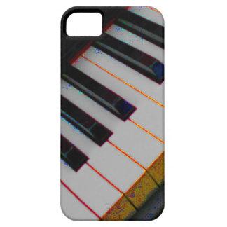 ファンキーなキーボードの電話箱 iPhone SE/5/5s ケース