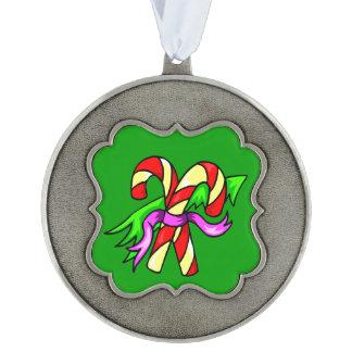 ファンキーなクリスマスのキャンディ・ケーン オーナメント