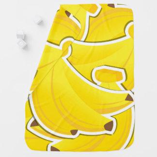 ファンキーなバナナ ベビー ブランケット