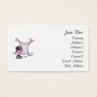 ファンキーなピンクの名刺 名刺