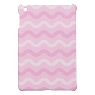 ファンキーなピンクの波 iPad MINIケース