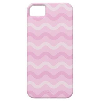 ファンキーなピンクの波 iPhone SE/5/5s ケース