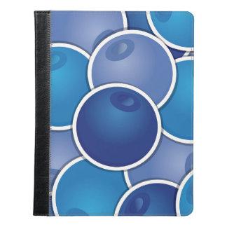 ファンキーなブルーベリー iPadケース
