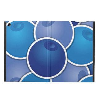 ファンキーなブルーベリー iPad AIRケース
