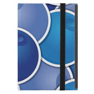 ファンキーなブルーベリー iPad MINI ケース