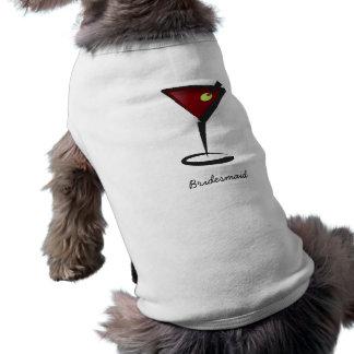 ファンキーなマルティーニのおもしろいの新婦付添人の好意 ペット服