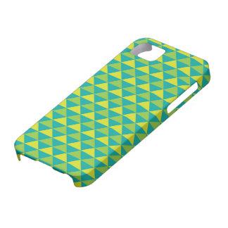ファンキーなレトロのデザイン-緑 iPhone SE/5/5s ケース