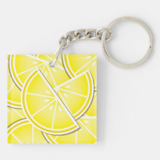 ファンキーなレモンくさび! キーホルダー