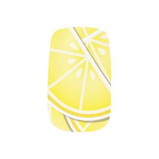 ファンキーなレモンくさび! ネイルアート