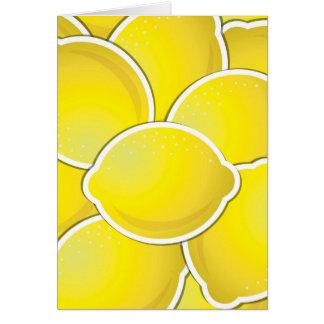 ファンキーなレモン カード