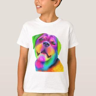 ファンキーなロットワイラー Tシャツ