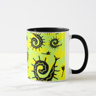 ファンキーな化石 マグカップ