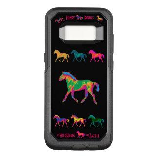 ファンキーな子馬のWildHerdzの電話箱 オッターボックスコミューターSamsung Galaxy S8 ケース