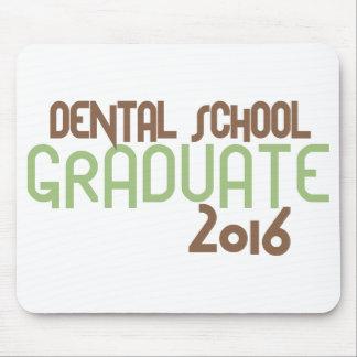 ファンキーな歯学部の卒業生2016年(緑) マウスパッド