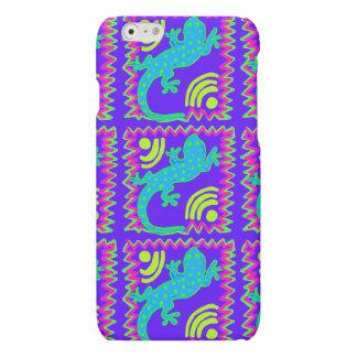 ファンキーな水玉模様のトカゲパターンiPhone6ケース