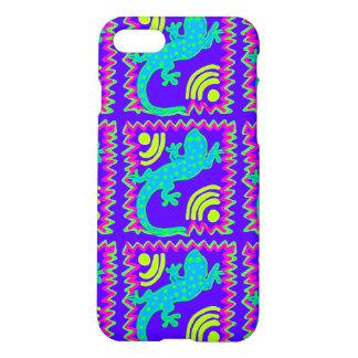 ファンキーな水玉模様のトカゲパターンiPhone 7の場合 iPhone 8/7 ケース