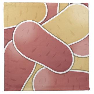 ファンキーな混合されたポテト ナプキンクロス