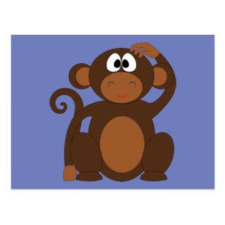 ファンキーな猿の郵便はがき ポストカード