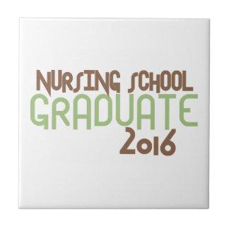 ファンキーな看護専門学校の卒業生2016年(緑) タイル