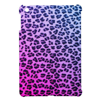 ファンキーな紫色のヒョウのプリントのiPad Miniケース iPad Miniケース