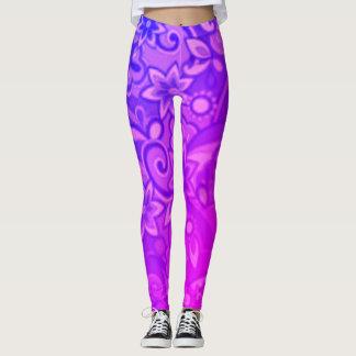 ファンキーな紫色のPucci レギンス