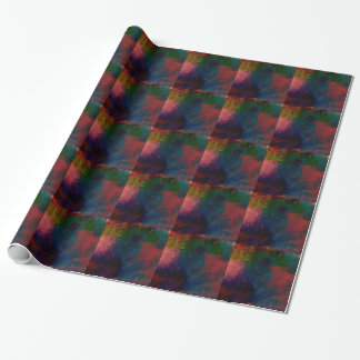 ファンキーな絞り染めの枕 ラッピングペーパー