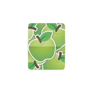 ファンキーな緑のりんご 名刺入れ