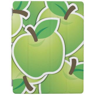 ファンキーな緑のりんご iPadスマートカバー