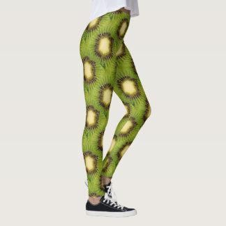 ファンキーな緑のキーウィ4Darla レギンス