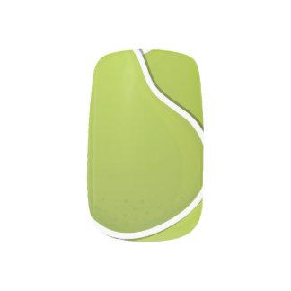 ファンキーな緑のナシ ネイルアート