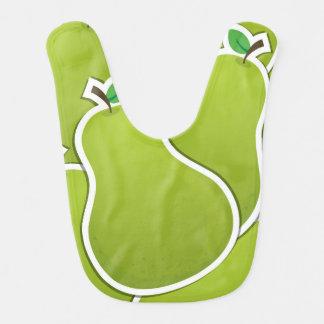 ファンキーな緑のナシ ベビービブ