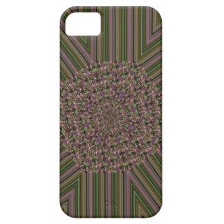 ファンキーな緑のピンクのデザイン iPhone SE/5/5s ケース