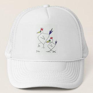 ファンキーなchooksのトラック運転手の帽子 キャップ