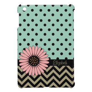 ファンキーなL'ilのデイジーの点のiPad Miniケース-ヒスイ iPad Miniケース