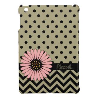 ファンキーなL'ilのデイジーの点のiPad Miniケース-暗灰色 iPad Miniケース