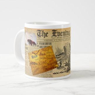 ファンキーなMammaBASILのデザインのジャンボマグ! ジャンボコーヒーマグカップ