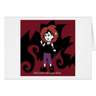 ファンキーなpunkyの挨拶 カード