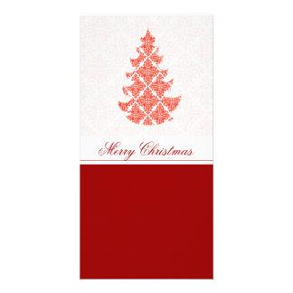 ファンシーで贅沢なクリスマス カード