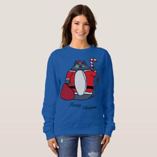 ファンシーなクリスマスの女性のセーター スウェットシャツ