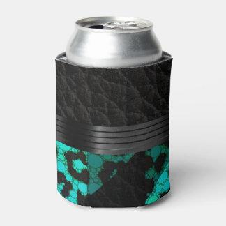 ファンシーなターコイズのチータ 缶クーラー