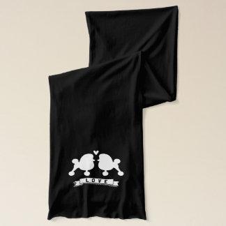 ファンシーなトイプードル愛 スカーフ