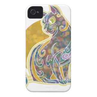 ファンシーなネコ科 Case-Mate iPhone 4 ケース