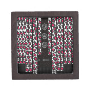 ファンシーなピンクのチータのシマウマ ギフトボックス